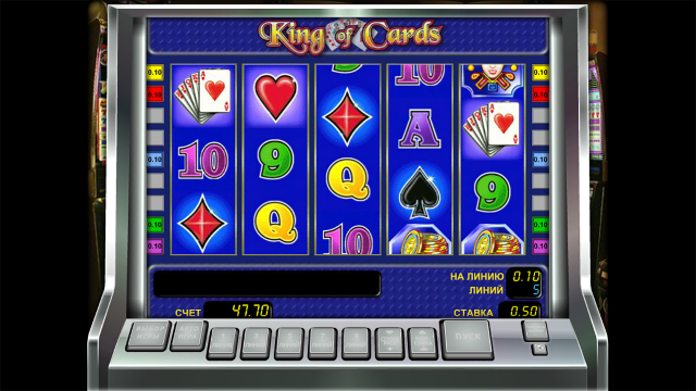Характеристики слота King Of Cards 9