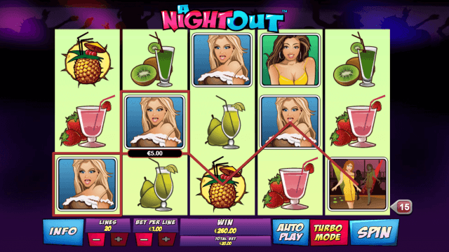 Бонусная игра A Night Out 9
